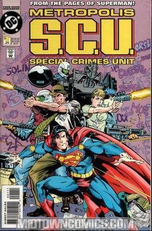 Metropolis S C U 1 Midtown Comics Comics Comic Book Covers