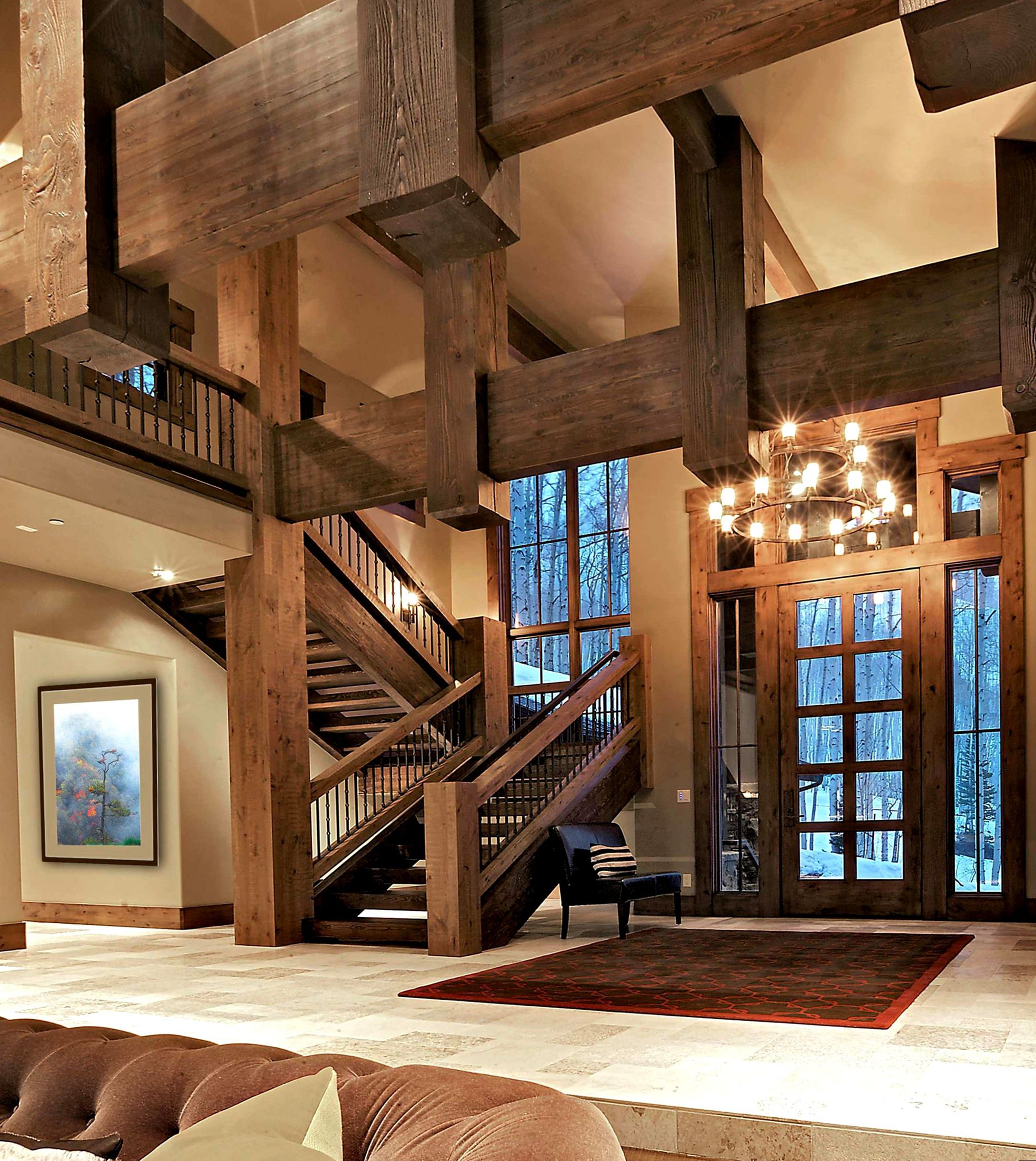 15 Incredible Mediterranean Staircase Designs That Will: Cool 15 Amazing Rustic Stair Design Ideas For You To Have