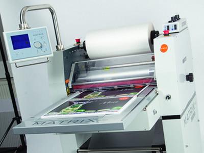 Pneumatic Praise Laminated Machine Digital Printer Laminated Business Cards