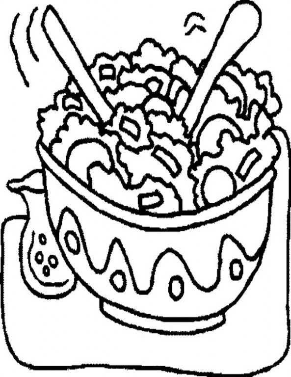 Ten Doubts About Coleslaw Coloring Page You Should Clarify Super