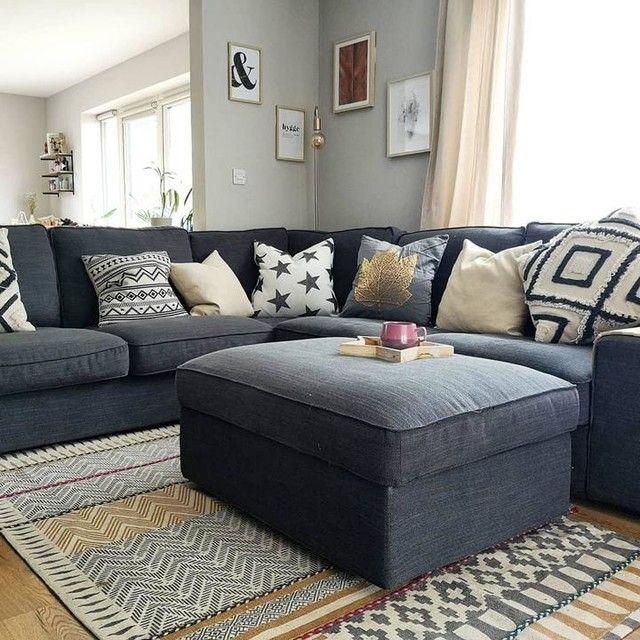 KIVIK Corner sofa, 6-seat - Hillared with chaise longue ...