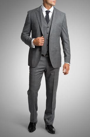 a6b87070eb3c Hugo Boss | Hugo Boss | Wedding suits, Grey suit wedding, Groom tuxedo