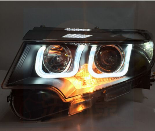 Led Headlight For Ford Edge Led Front Light Bi Xenon K Hid Kit