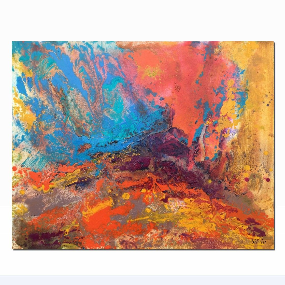 Fantastic Contemporary Art Large Canvas Painting Abstract Painting Complete Home Design Collection Epsylindsey Bellcom