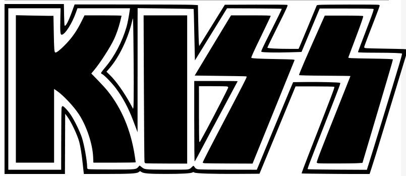 Explore kiss logo window stickers and more