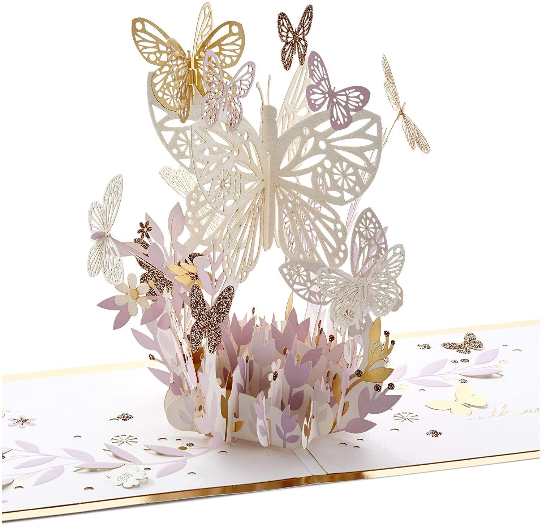 Hallmark signature paper wonder pop up card thankful for