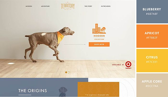 Website Color Schemes: The Palettes of 50 Visually Impactful ...