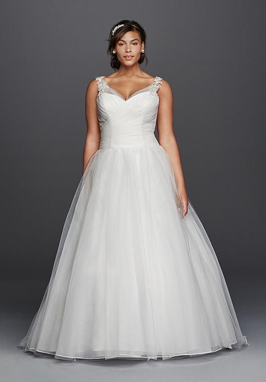 b910fc3de21e David s Bridal David s Bridal Collection Style 9WG3786 Wedding Dress photo