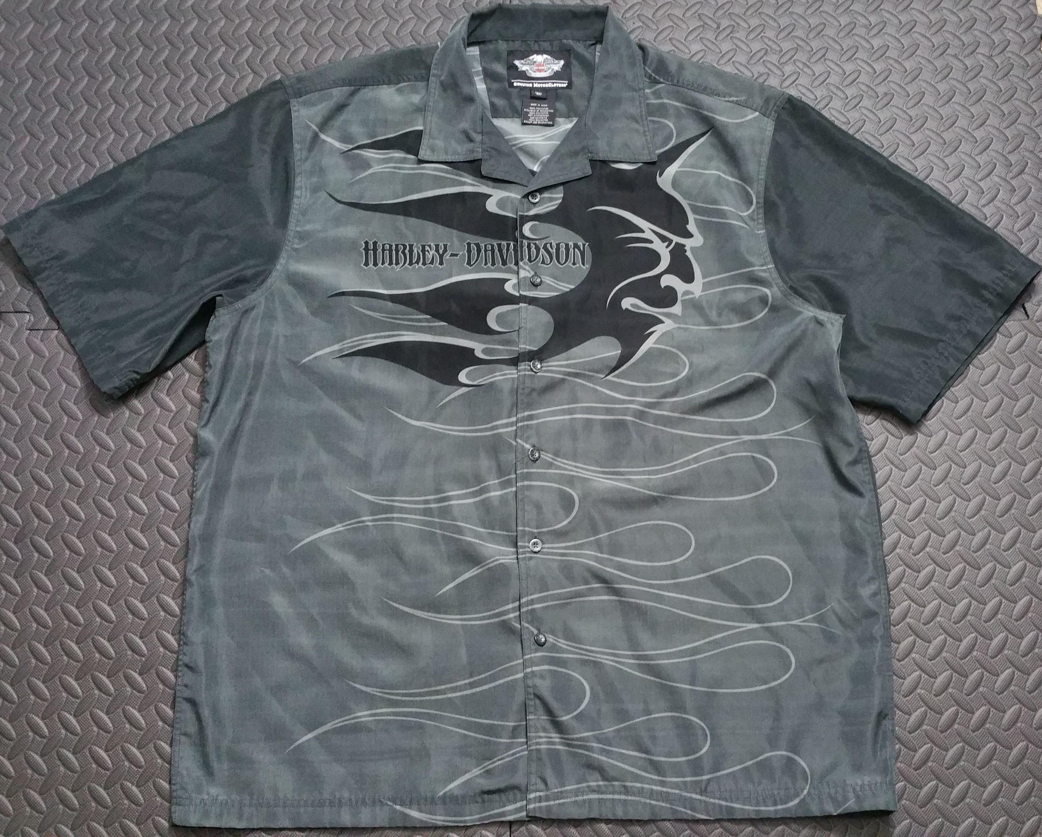 Https Www Ebay Com Itm 123142206704 Harleydavidson Tribal Shirt Mens Bikersride Japan Vintage Harley Davidson Mens Shirts Harley Davidson Men Fashion