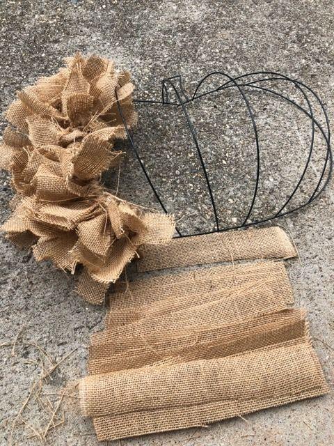 Photo of DIY Dollar Tree Rag Pumpkin Wreath – The Shabby Tree