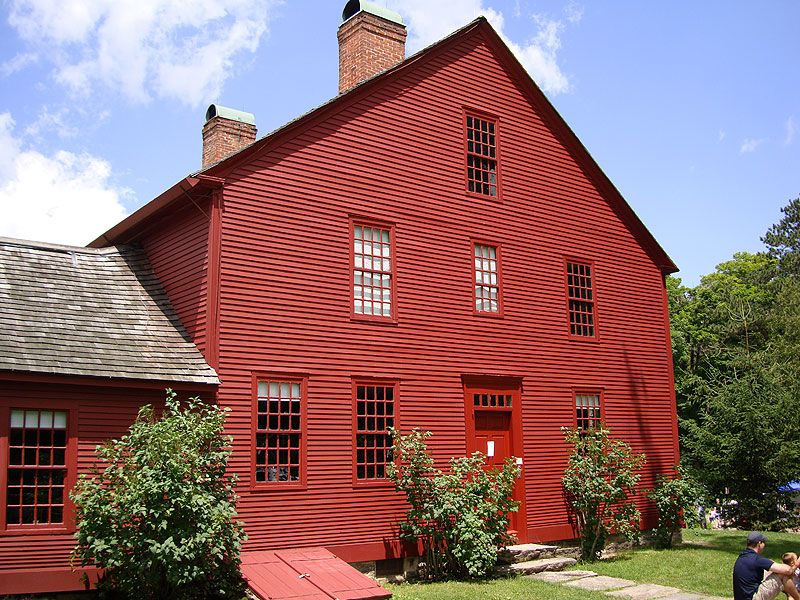 Nathan Hale Homestead House Google Search Vermont In