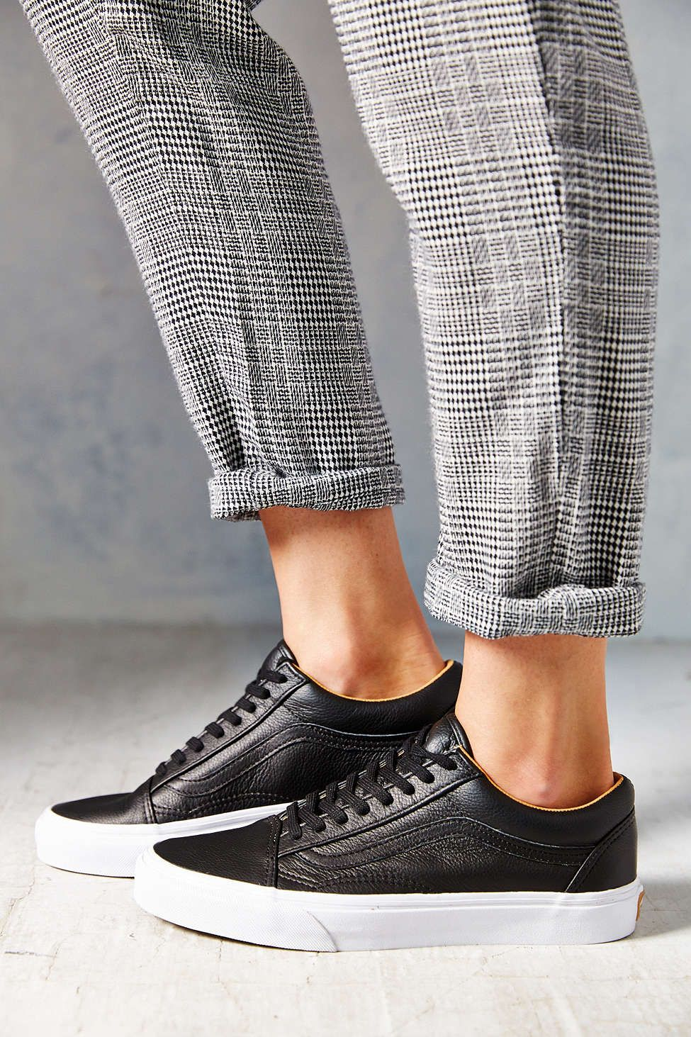 vans old skool black damen