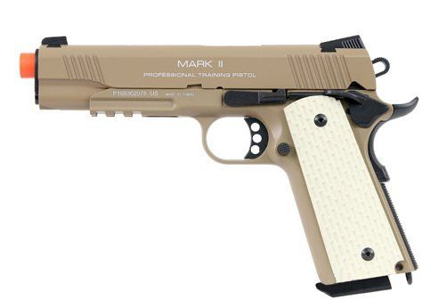 kwa 1911 mkii ptp full metal gas blowback airsoft pistol  dark earthAirsoft Gun ** See this great product.