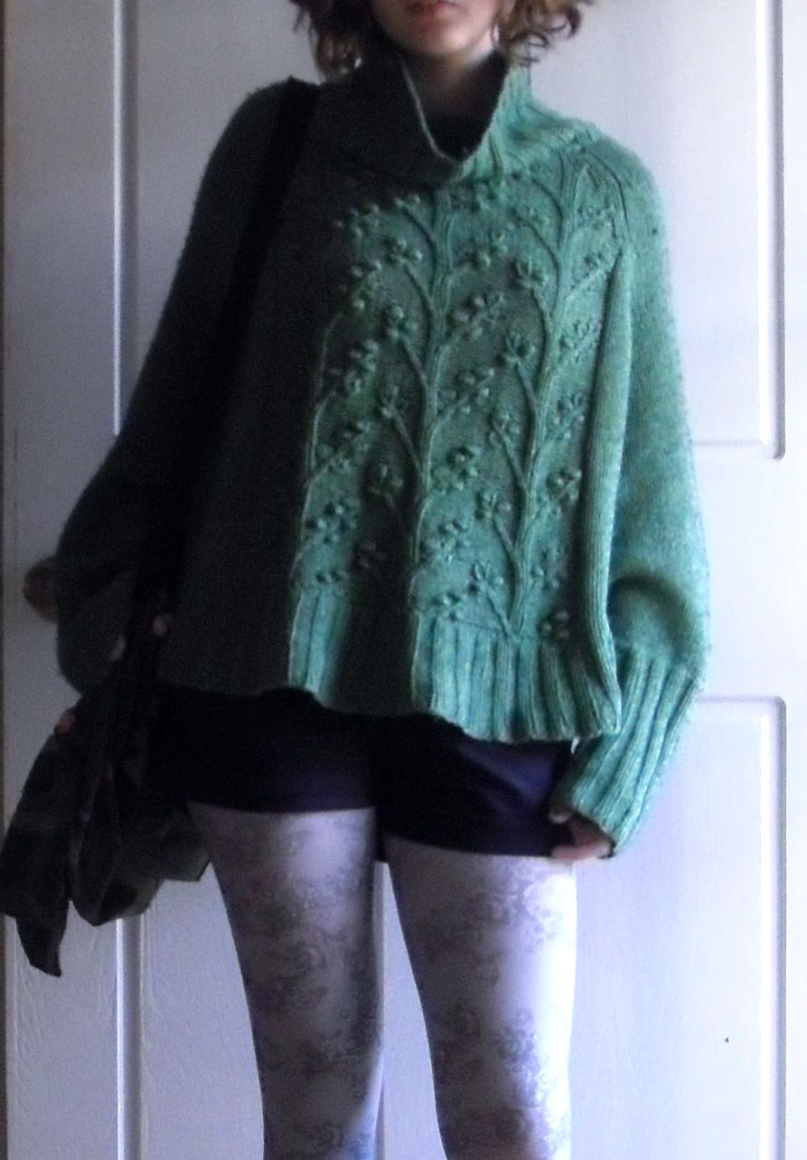 Sew knit me a sleeved poncho from free berocco pattern looks sew knit me a sleeved poncho from free berocco pattern looks good knit loose bankloansurffo Choice Image