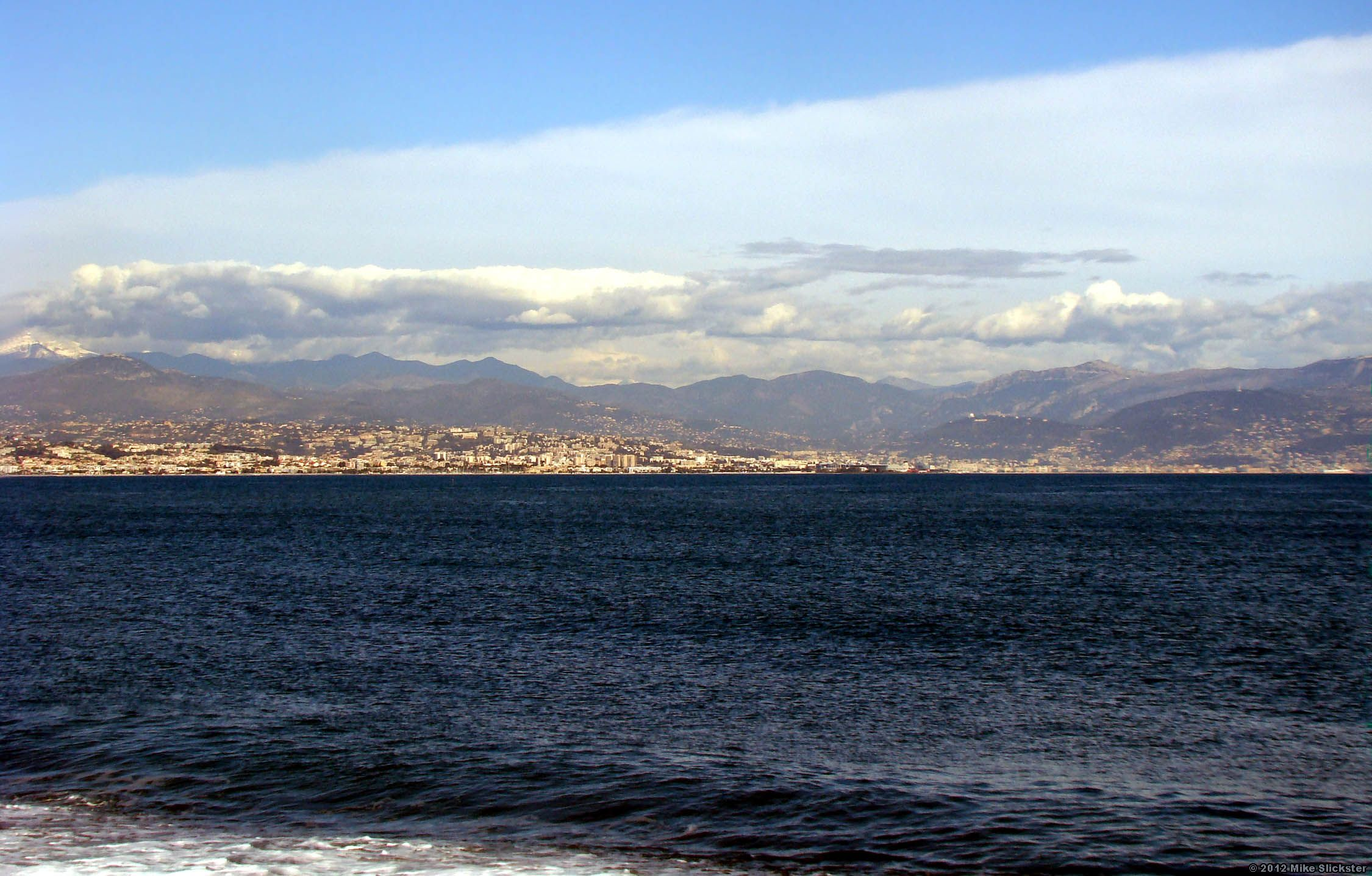 The Baie Des Anges As Seen From Antibes Natural Landmarks French Riviera Riviera