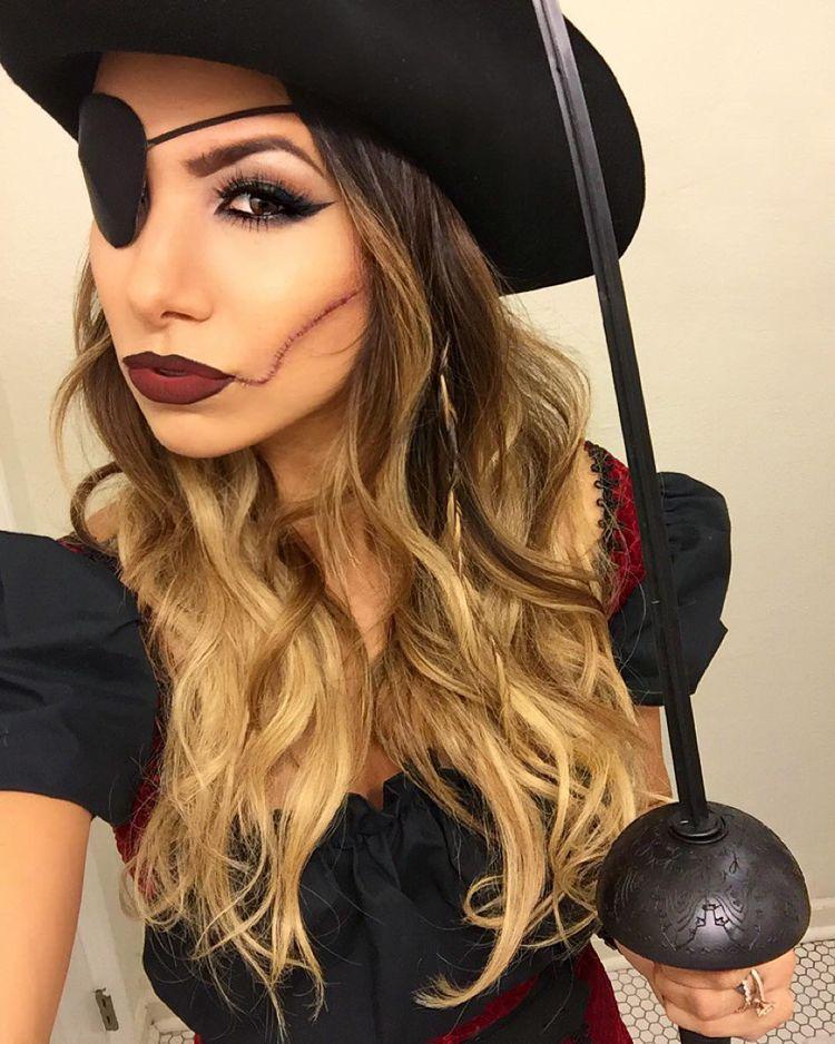 Pirat Schminken Zu Halloween Oder Fasching Ideen Fur Frauen