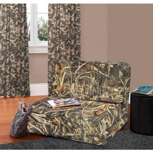 Flip Lounger Chair Convertible Fold Down Couch Sleeper Bed Dorm Game Room  Camo In Home U0026 Garden, Furniture, Sofas, Loveseats U0026 Chaises | EBay