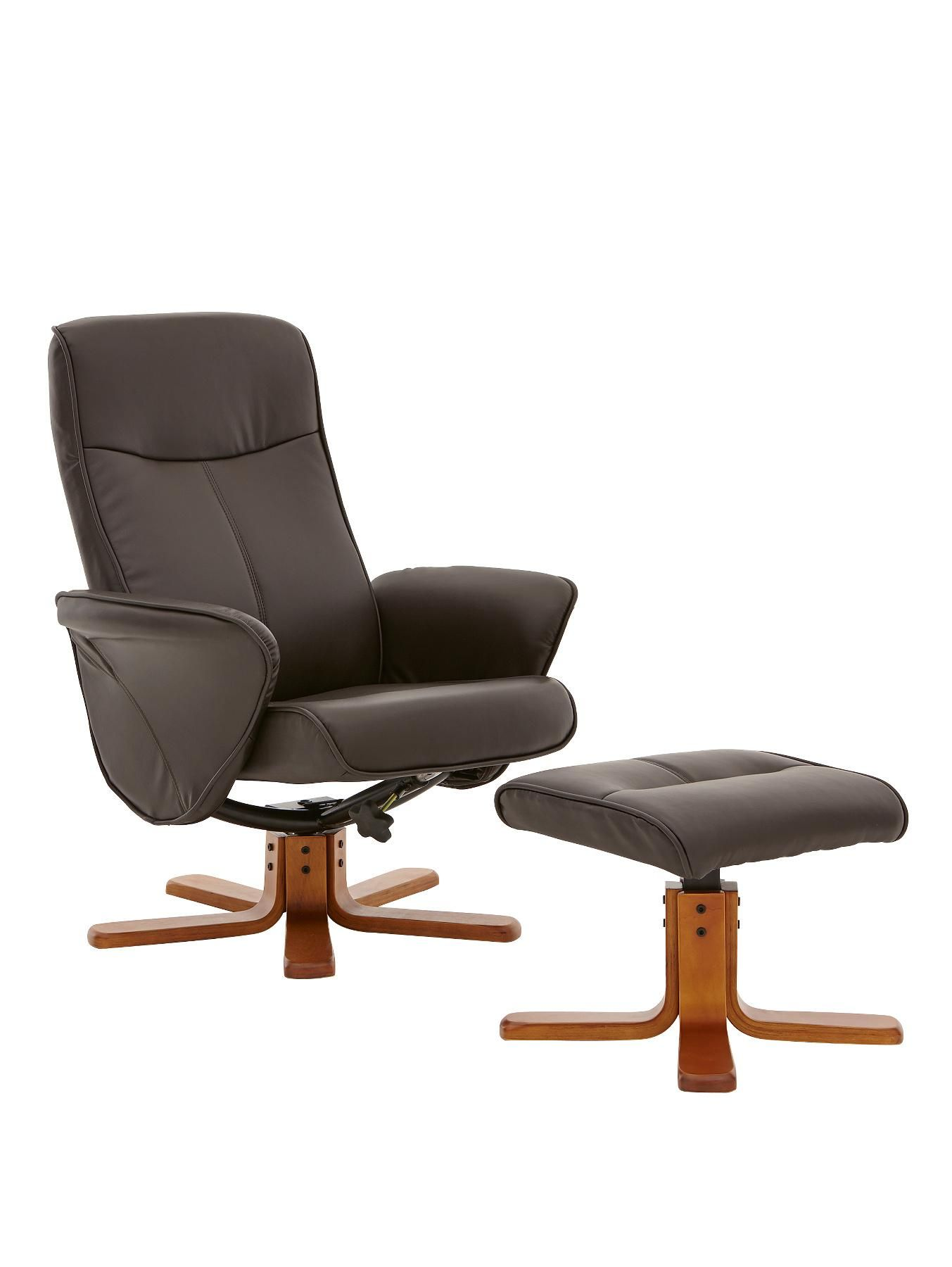 Sensational Dexter Swivel Recliner Chair And Footstool Very Co Uk Ocoug Best Dining Table And Chair Ideas Images Ocougorg