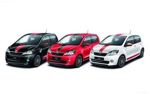 Skoda Citigo Sport 2014 Boasts A Dynamic Look Black 15 Inch