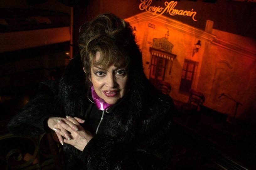 Falleció la célebre actriz y cantante de tango Virginia Luque