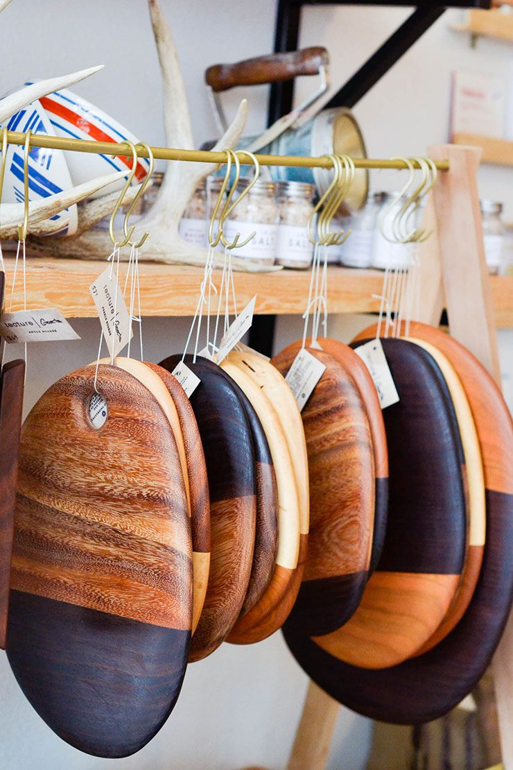 geographie store in san diego, wooden cutting boards, home goods ...