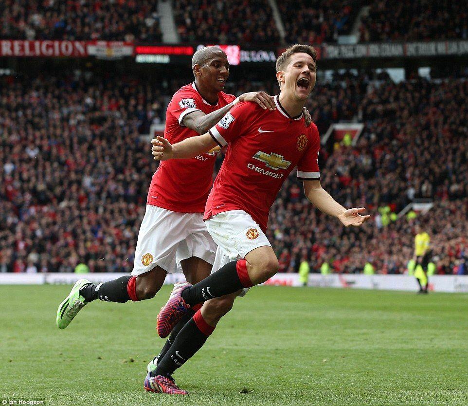 Manchester United 3 1 Aston Villa Ander Herrera Scores