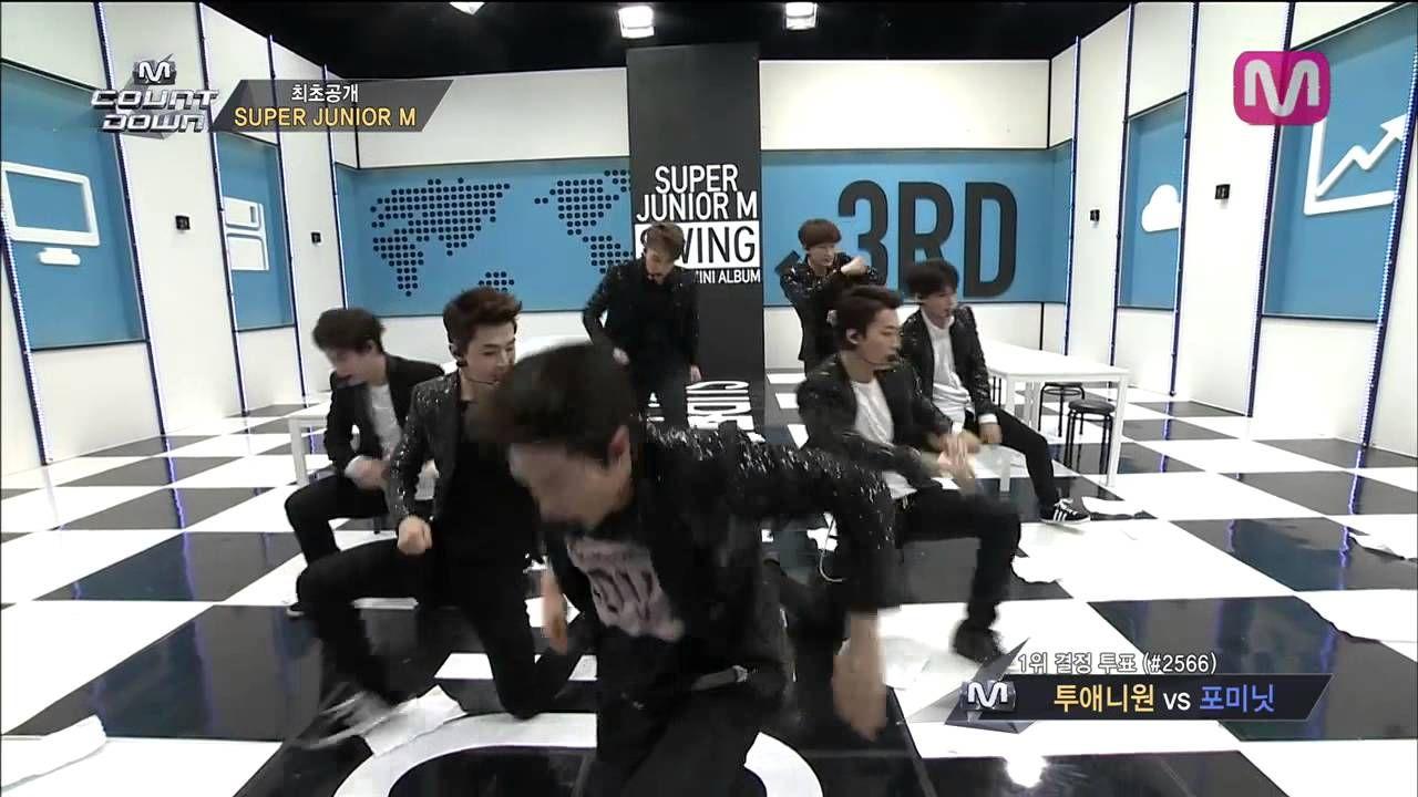 슈퍼주니어M_SWING (SWING by Super Junior M of M COUNTDOWN 2014.3.27)