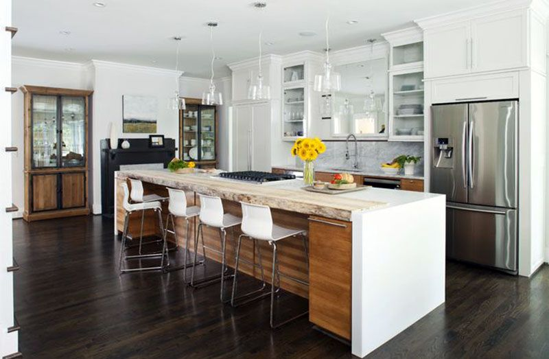 35 Large Kitchen Islands With Seating Pictures  Large Kitchen Custom Kitchen Islands With Seating Inspiration Design