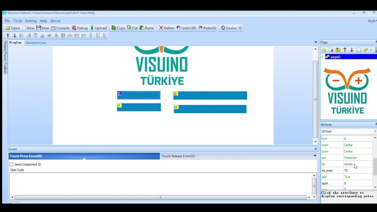 And another great Arduino and Visuino Video Tutorial