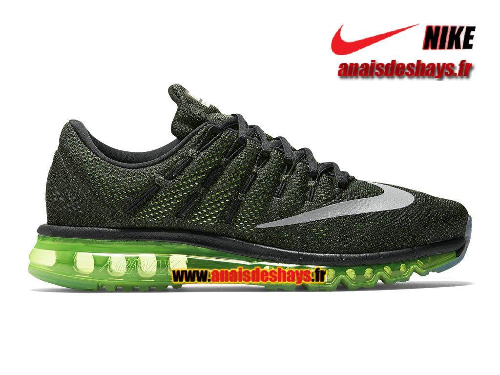 Boutique Officiel Nike Air Max 2016 De Running NoirVert