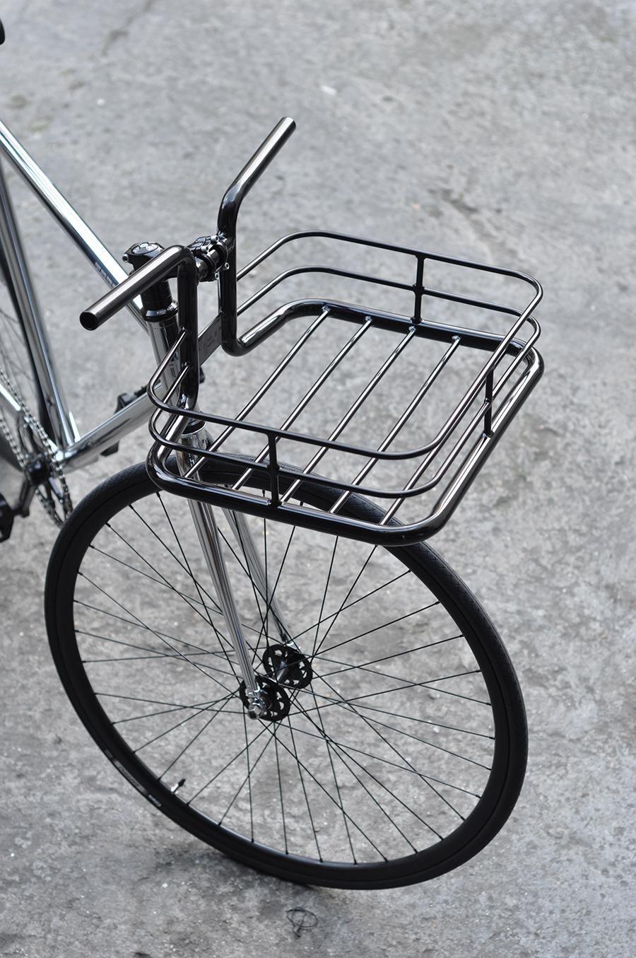 Copenhagen Parts Bike Porter Korblenker Schwarz