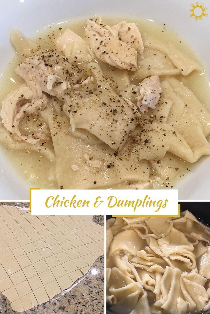 Chicken dumplings recipe chicken dumplings southern comfort food chicken dumplings recipe forumfinder Gallery