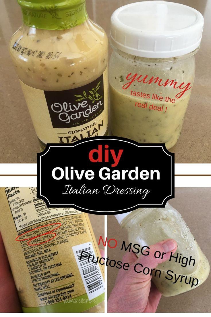 Olive Garden Italian Dressing Recipe Olive garden
