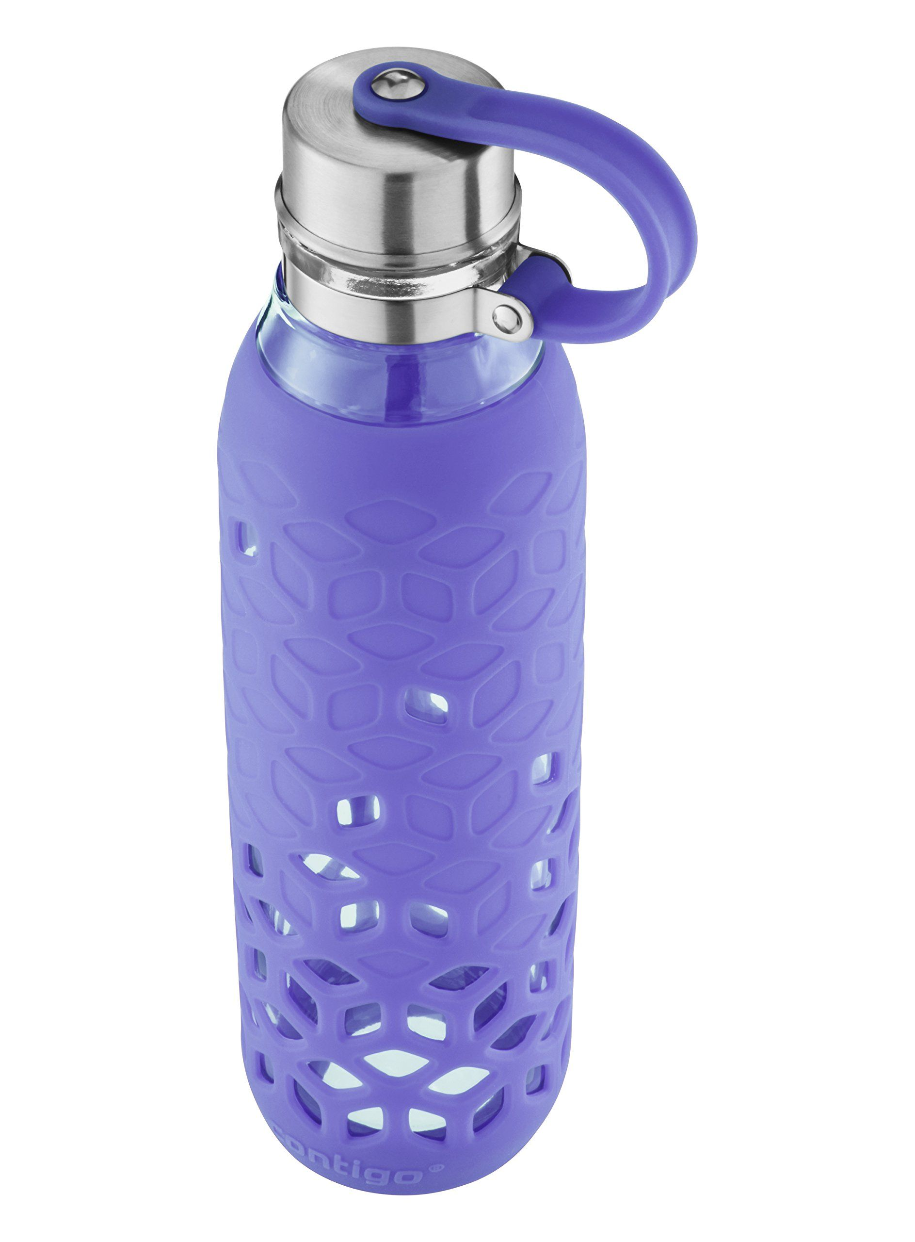 Contigo Purity Glass Water Bottle With Petal Sleeve 20oz Grapevine Check Out The Image By Visiting The Link It Is A Glass Water Bottle Water Bottle Bottle