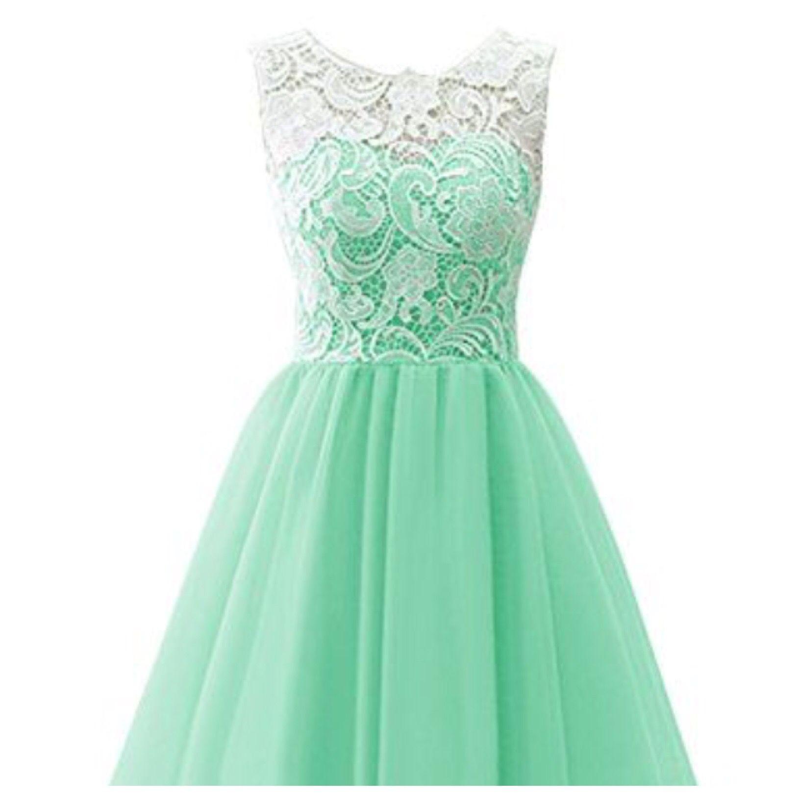 Mint green dress short brides maid dresses pinterest mint