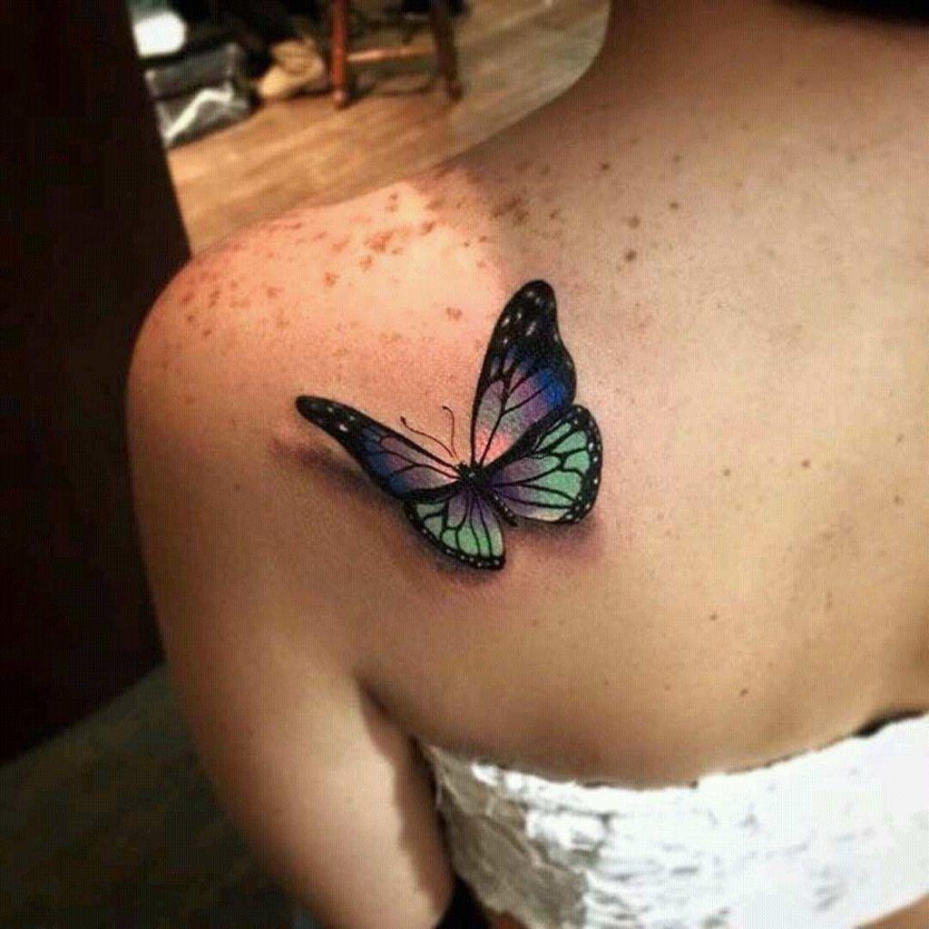 Resultado De Imagen Para Tatuajes De Espalda Para Mujer Mariposa Tatuaje Tatuajes De Mariposas En La Espalda Tatuaje De Mariposa En El Hombro