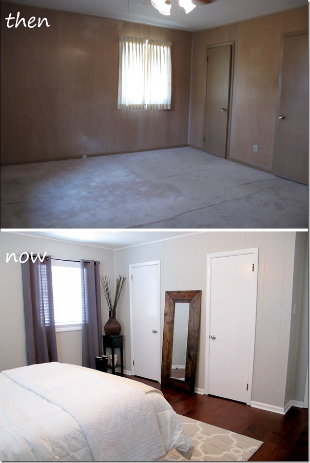 Master Bedroom Before And After Gray Walls Live The Home Life Pinterest Master Bedroom