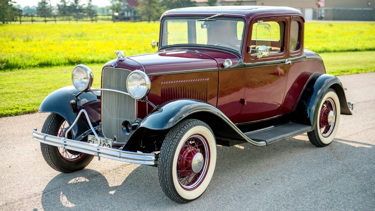 1932 ford model b coupe 45