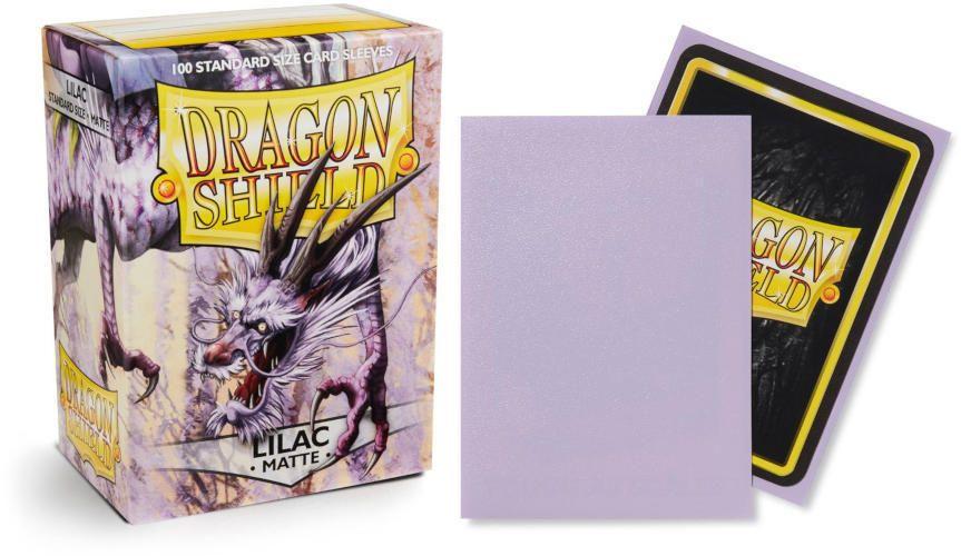 5 new 100 ct pk Dragon Shield Matte Deck Sleeves Protectors Pick the Colors