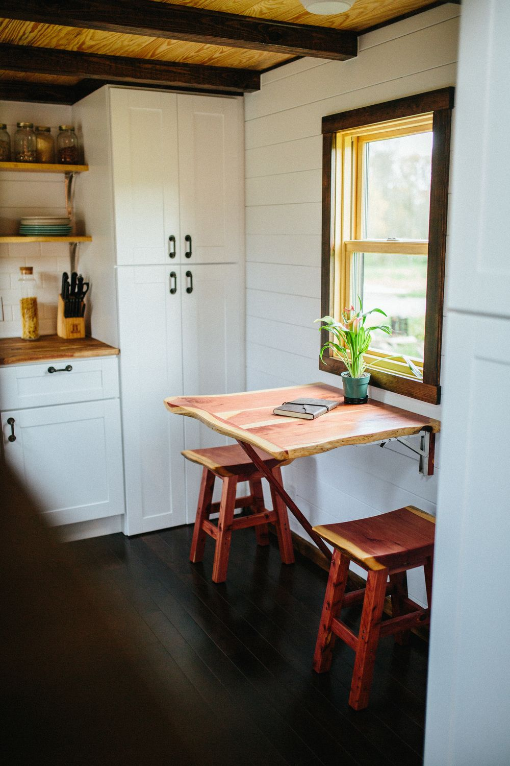 Tiny home kitchen - A High End Tiny Home Built By Wind River Tiny Homes In Tennessee