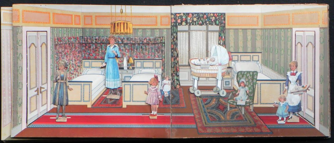 Vietor - Puppen-Stuben - Stalling – oude kinderboeken – Picasa Nettalbum