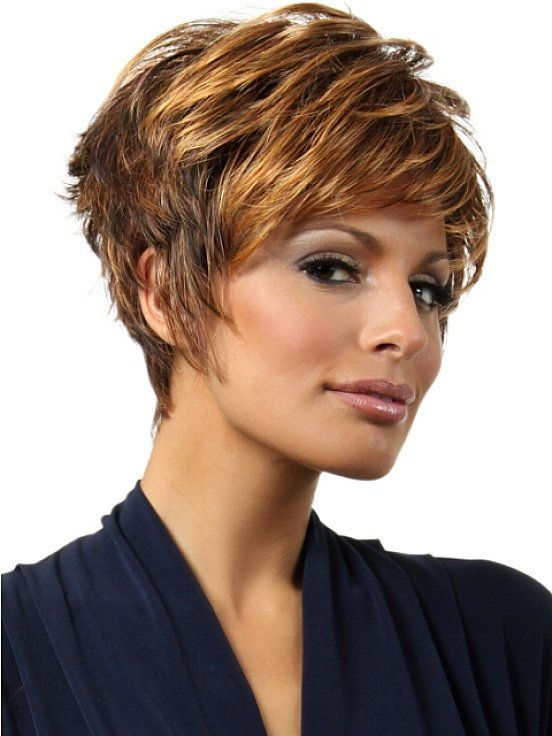 Short Hairstyles For Thick Wavy Hair Ideas Short Hairstyles For Formal Hairstyles For Short Hair Short Hair Styles Short Hairstyles For Thick Hair