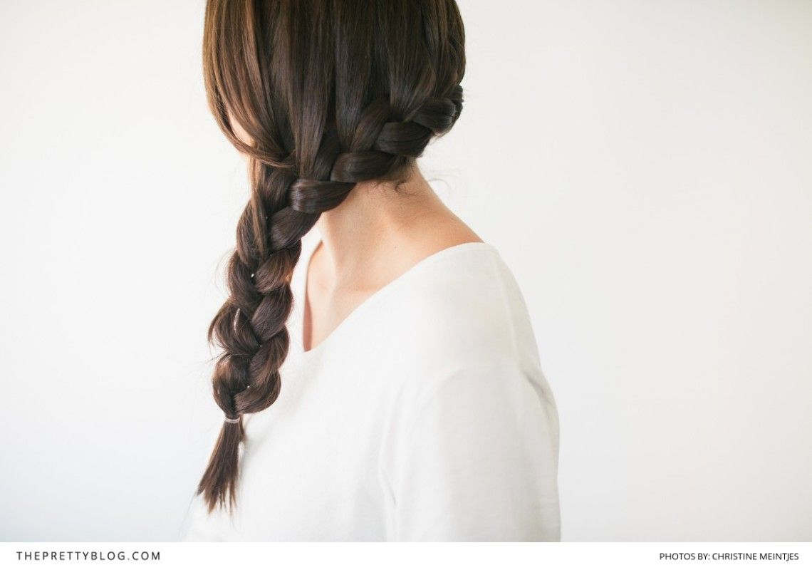 The Perfectly Pretty Side Plait | Beauty | Hair | Bridal Inspiration | Photography by Christine Meintjes