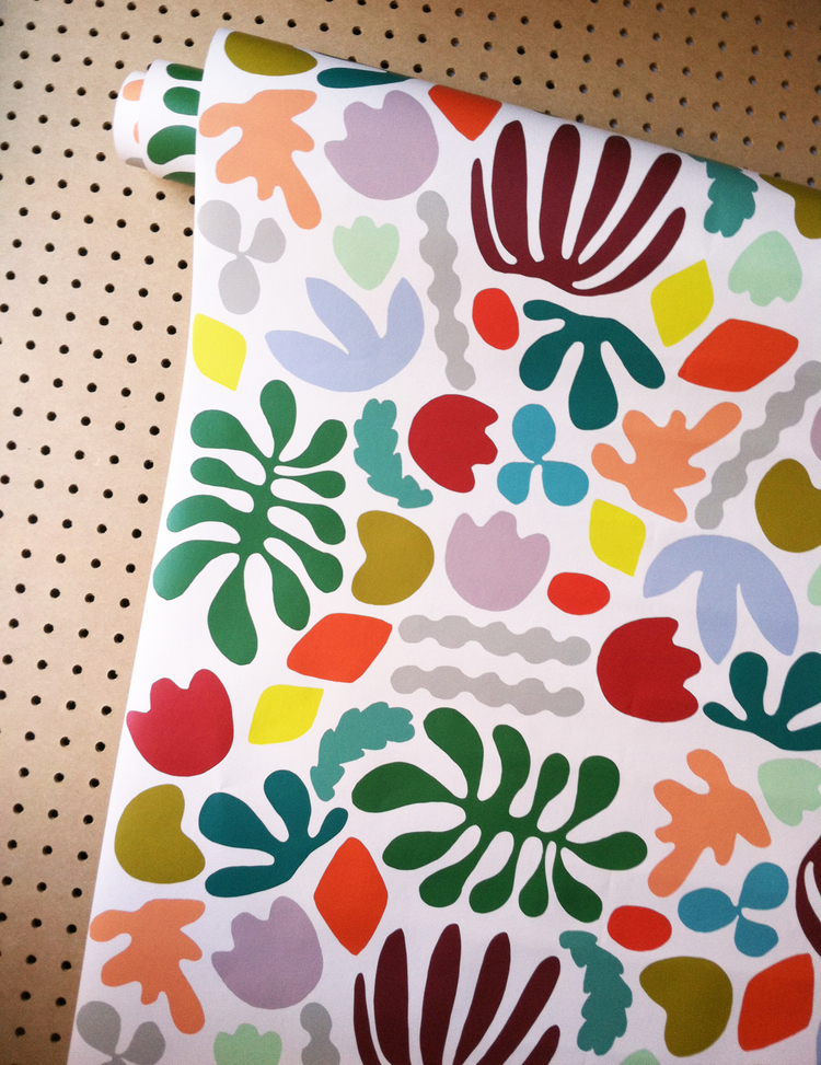 Muse Wallpaper in Multicolor — KATE ZAREMBA COMPANY