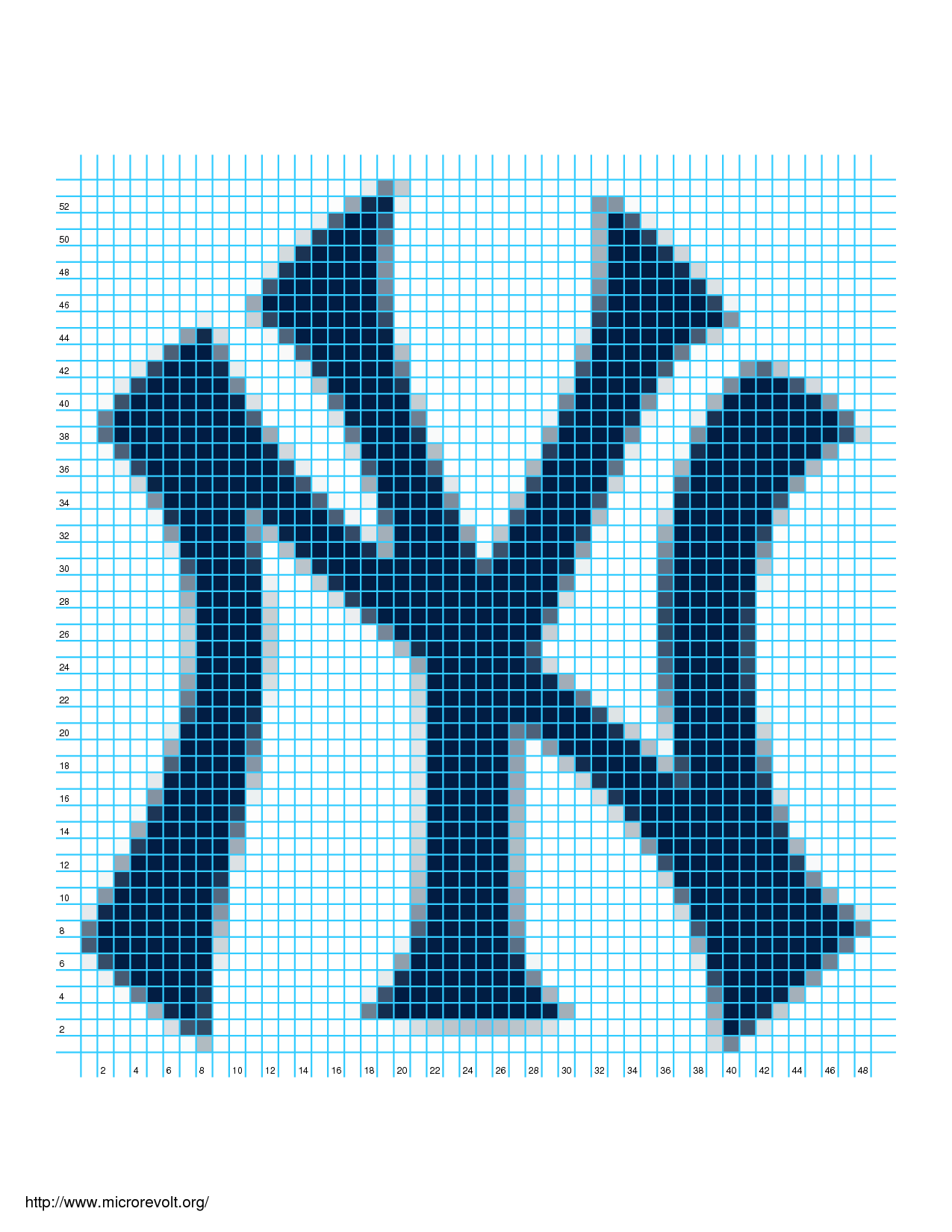 Knitting Chart Software Free : Ny yankees logo chart knit crochet pattern pdf download