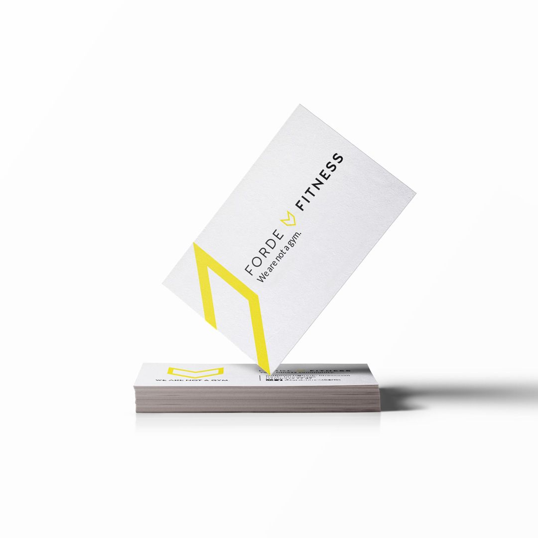 Modern business card design for sports fitness community studio in modern business card design for sports fitness community studio in berlin germany forde reheart Choice Image