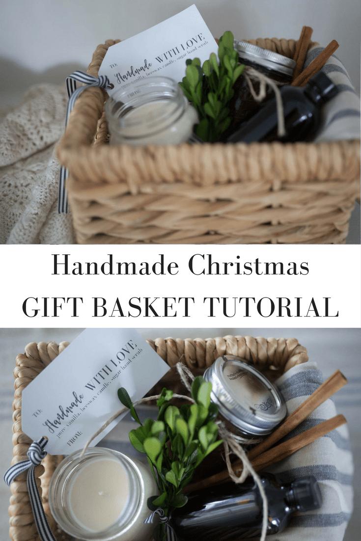 Homemade christmas gifts free printable gift tags homemade homemade christmas gift ideas basket tutorial with free printable gift tag negle Gallery