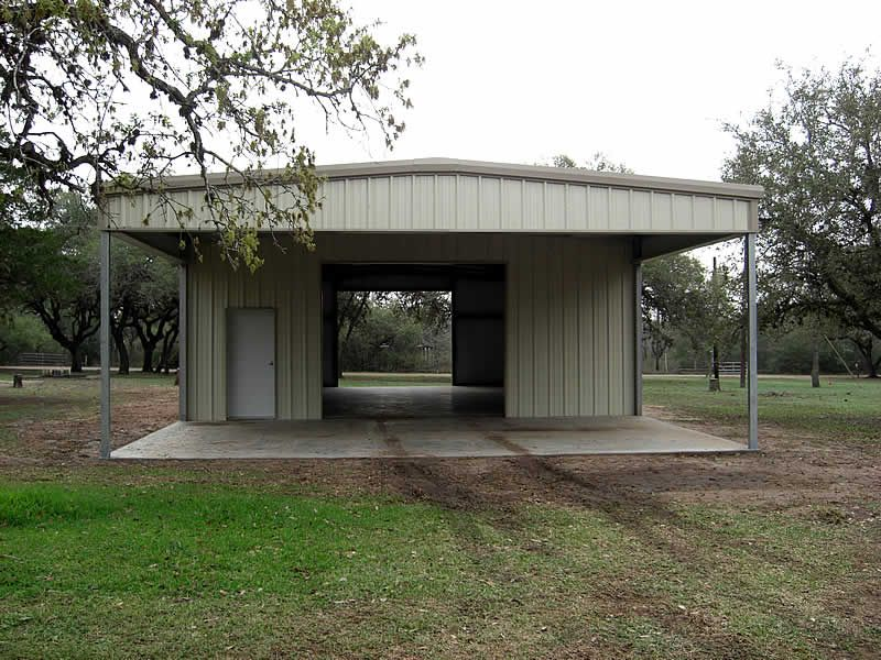 30' x 40' metal building for the hubs Metal buildings