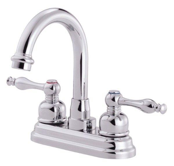 Danze Sheridan Centerset Bathroom Faucet D301255 Polished Chrome