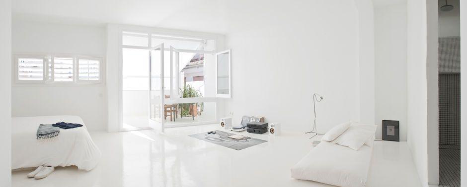 All White Interior Design the white retreat, a wonderful example of minimal interior design